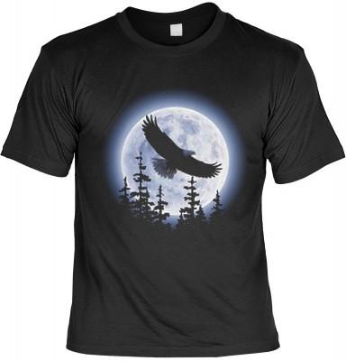 Top Qualität! <b> Mythologie der Ureinwohner Nordamerikas T-Shirt Eagle Moon in schwarz </b>,fällt sofort ins Auge und sorgt für einen gelungenen Auftritt.<br /><br />T-shirt namenhafter Hersteller in bester Qualität. <b><b>Angenehme u. weiche Qualität au