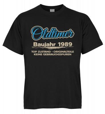 Oldtimer Baujahr 1989 Top Zustand Originalteile Keine Gebrauchsspuren T-Shirt Bio-Baumwolle