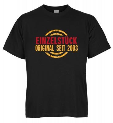 Einzelstück Original seit 2003 T-Shirt Bio-Baumwolle