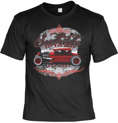Southside hot rod shop mit der Artikel-Nr.: HK_Mot_01_15908-P15<b>Biker - Motiv T-Shirt</b><br><br><br><b><u>Angaben zum Produkt vom Hersteller:</u><br><br><b><i>Das Material ist 100% Baumwolle</b><b>Die Tshirts haben ein Schulter zu Schulter Nackenband f