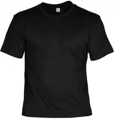 Bedruckbares T-Shirt Schwarz
