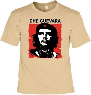 Top Qualität! HK_UCA_14_11211-P16 mit dem Motiv: <br><b>Revolution T-Shirt Che Guevara in sand</b>,fällt sofort ins Auge und sorgt für einen gelungenen Auftritt.<br><br>T-shirt namenhafter Hersteller in bester Qualität, wie <b>Stedman</b> oder <b>Fruit of