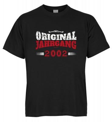 Original Jahrgang 2002 T-Shirt Bio-Baumwolle