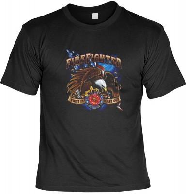 Top Qualität! HK_MTS_01_13049-P16 mit dem Motiv: <br><b>Emergency T-shirt: Fire Fighter Fb schwarz</b>,fällt sofort ins Auge und sorgt für einen gelungenen Auftritt.<br><br>T-shirt namenhafter Hersteller in bester Qualität, wie <b>Stedman</b> oder <b>Frui