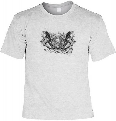 Gryphon-black mit der Artikel-Nr.: HK_Mot_07_12862-P10<b>Biker - Motiv T-Shirt</b><br><br><br><b><u>Angaben zum Produkt vom Hersteller:</u><br><br><b><i>Das Material ist 100% Baumwolle</b><b>Die Tshirts haben ein Schulter zu Schulter Nackenband für besser