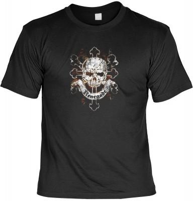Top Qualität! HK_MTS_01_12333-P13 mit dem Motiv: <br><b>Gothic Totenkopf Tshirt Renegade Fb schwarz</b>,fällt sofort ins Auge und sorgt für einen gelungenen Auftritt.<br><br>T-shirt namenhafter Hersteller in bester Qualität, wie <b>Stedman</b> oder <b>Fru