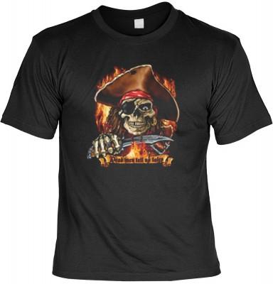 Top Qualität! HK_UCA_01_11905-P16 mit dem Motiv: <br /><b> Freibeuter T-Shirt Dead men tell no tales in schwarz </b>,fällt sofort ins Auge und sorgt für einen gelungenen Auftritt.<br /><br />T-shirt namenhafter Hersteller in bester Qualität, wie <b>Stedma