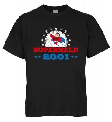 Superheld 2001 T-Shirt Bio-Baumwolle