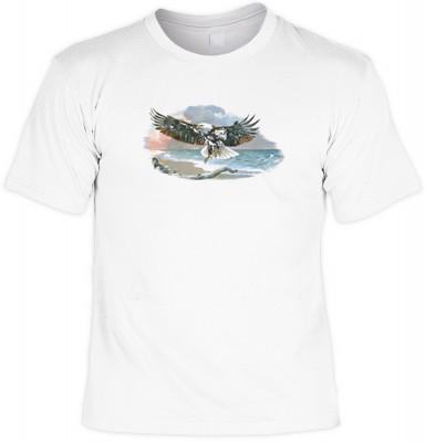 Top Qualität! HK_UCA_02_08258A2 mit dem Motiv: <br><b>Mythologie der Ureinwohner Nordamerikas T-Shirt Of Man and Nature II in weiß</b>,fällt sofort ins Auge und sorgt für einen gelungenen Auftritt.<br><br>T-shirt namenhafter Hersteller in bester Qualität,