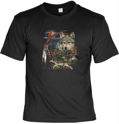 Top Qualität! HK_UCA_01_00259D2 mit dem Motiv: <br><b>Mythologie der Ureinwohner Nordamerikas T-Shirt Tribesman in schwarz</b>,fällt sofort ins Auge und sorgt für einen gelungenen Auftritt.<br><br>T-shirt namenhafter Hersteller in bester Qualität, wie <b>