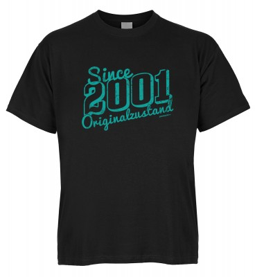 Since 2001 Originalzustand T-Shirt Bio-Baumwolle