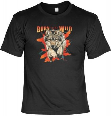 Top Qualität! HK_MTS_01_6189-P16 mit dem Motiv: <br><b>Biker Motorrad Tshirt Born to be Wild Fb schwarz</b>,fällt sofort ins Auge und sorgt für einen gelungenen Auftritt.<br><br>T-shirt namenhafter Hersteller in bester Qualität, wie <b>Stedman</b> oder <b