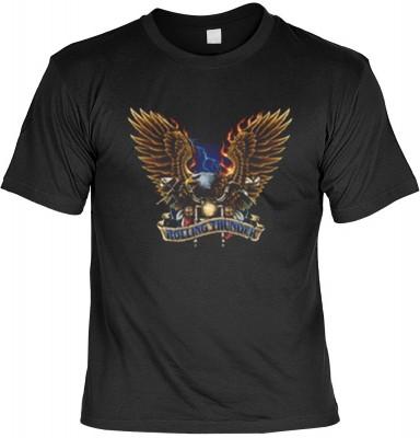 Top Qualität! HK_MTS_01_11909-P16 mit dem Motiv: <br><b>Motorrad Flames Gewitter T-shirt Rolling Thunder Fb schwarz</b>,fällt sofort ins Auge und sorgt für einen gelungenen Auftritt.<br><br>T-shirt namenhafter Hersteller in bester Qualität, wie <b>Stedman
