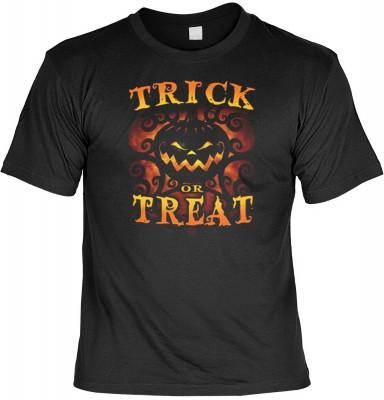 Top Qualität! HK_MTS_01_15415D1 mit dem Motiv: <br><b>Halloween Grusel Tshirt Halloween - Trick or Treat Fb schwarz</b>,fällt sofort ins Auge und sorgt für einen gelungenen Auftritt.<br><br>T-shirt namenhafter Hersteller in bester Qualität, wie <b>Stedman