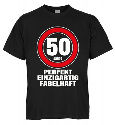 50 Jahre perfekt einzigartig fabelhaft T-Shirt Bio-Baumwolle