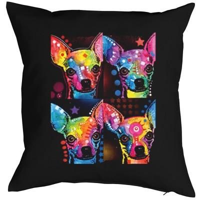 <p>Faszinierende Neon Motive wirken leuchtend, ob zur Party, Freizeit, Disco, immer wieder passend</p>Kissenbezug:<br><br>100% Baumwolle<br>Reißverschluss in Stoffarbe<br>ca. 40x40 cm<br>Vorderseite bedruckt